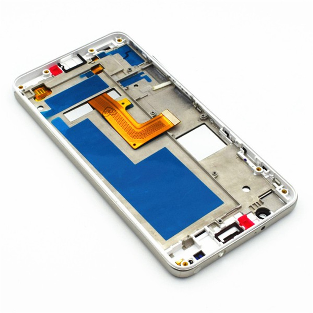 Complete Screen Assembly with Bezel for Huawei Honor 6 Single SIM -White