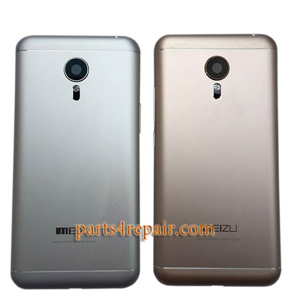 Back Housing Cover with Side Keys for Meizu MX5 -Gold