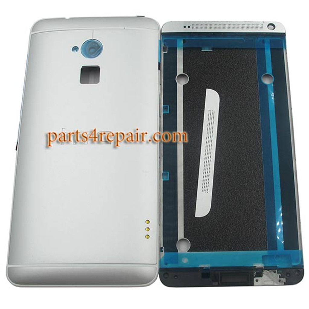 Full Housing Cover for HTC One Max -White