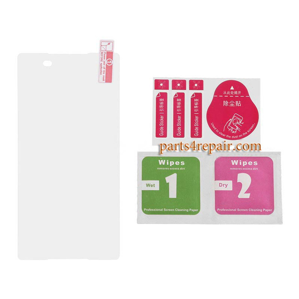 Premium Tempered Glass Screen Protector for Sony Xperia Z3+