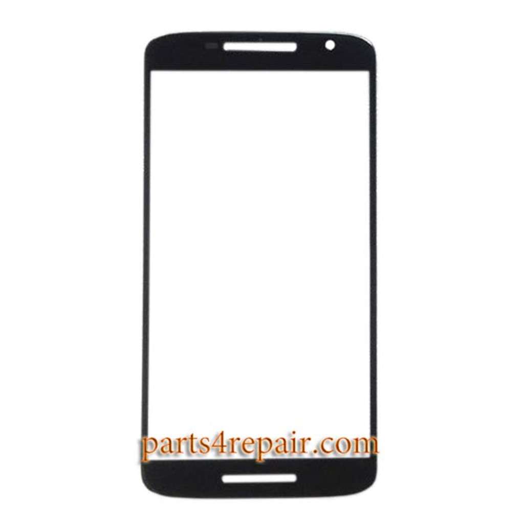 """Front Glass for Motorola X Play 5.5"""" -Black"""