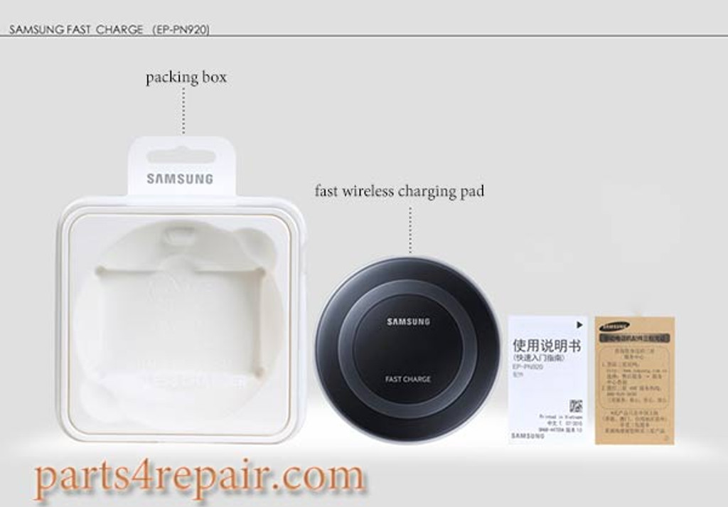 Generic EP-PN920 Wireless Charging Pad for Samsung Galaxy Note 5/ S6 Edge+ -White