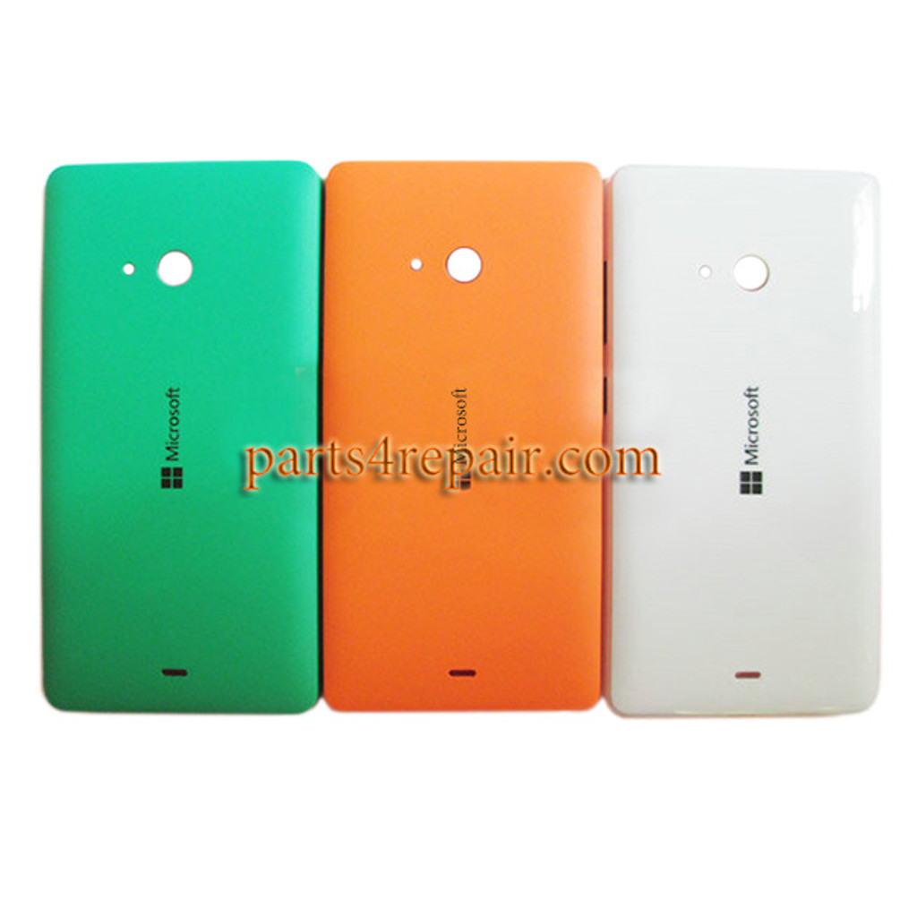 Back Cover with Side Keys for Microsoft Lumia 540 Dual SIM -Orange