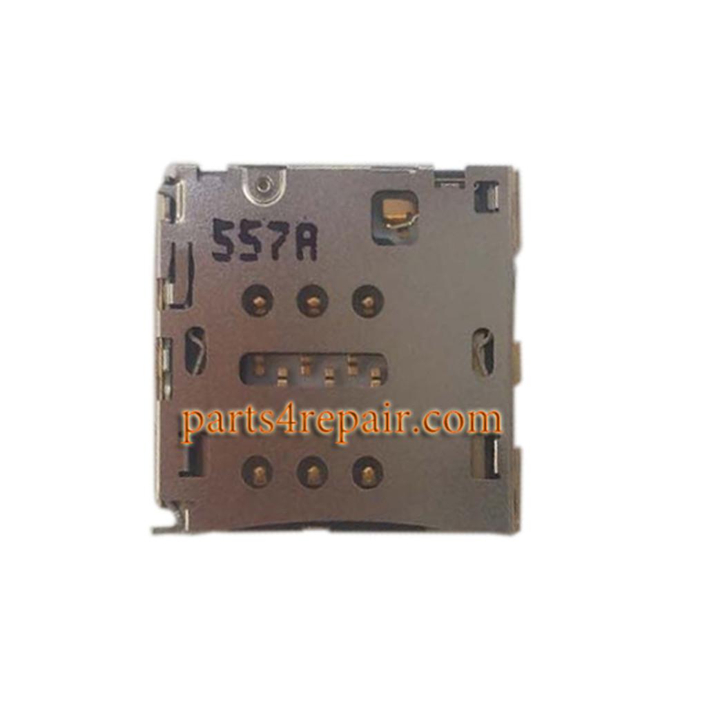 SIM Card Reader for Huawei P8 Max from www.parts4repair.com
