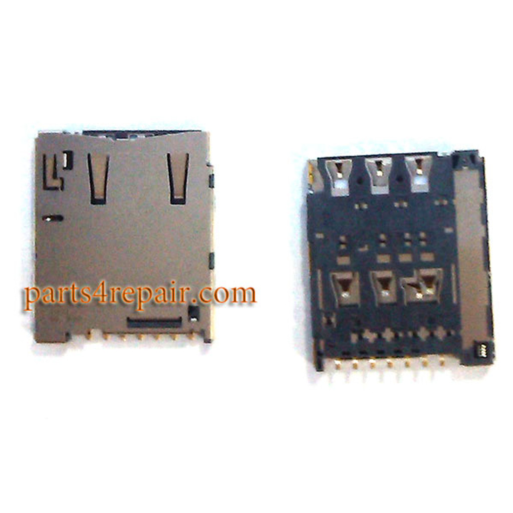 SIM Card Reader for Sony Xperia M4 Aqua from www.parts4repair.com