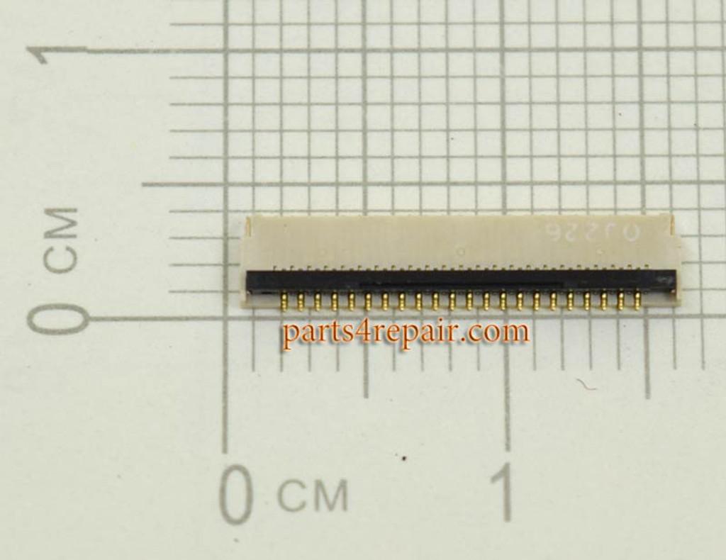 45pin LCD FPC Connector for Samsung Google Nexus 10 P8110 -2pcs