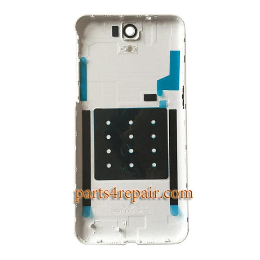 Back Cover with Side Keys for HTC One E9 -White