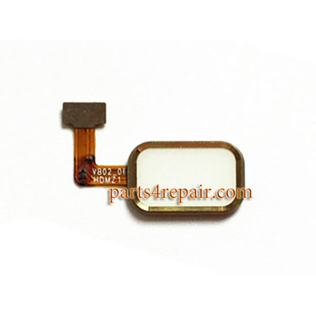 Home Button with Flex Cable for Meizu MX4 Pro from www.parts4repair.com