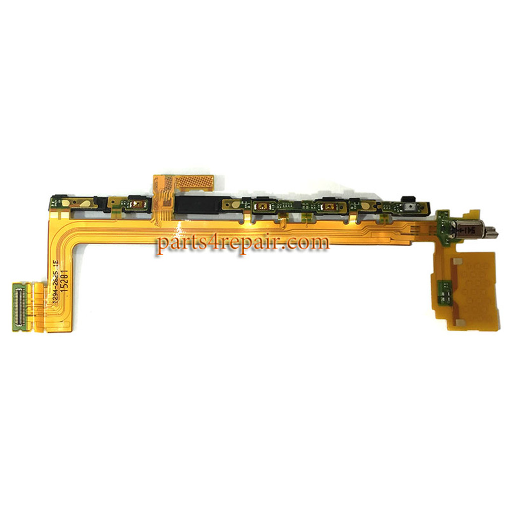 Side Key Flex Cable with Vibrator for Sony Xperia Z5 Premium