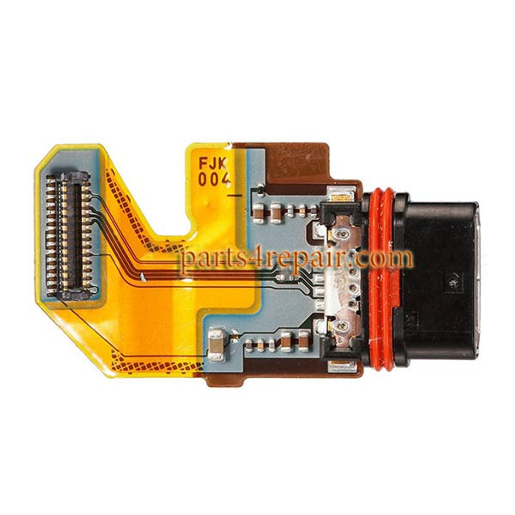 Dock Charging Flex Cable for Sony Xperia Z5 Premium from www.parts4repair.com