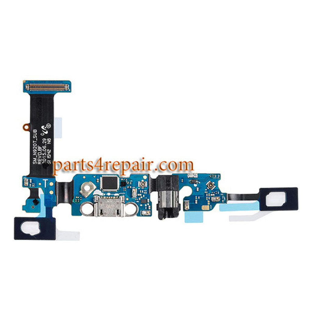 Dock Charging PCB Board for Samsung Galaxy Note 5 N920T from www.parts4repair.com