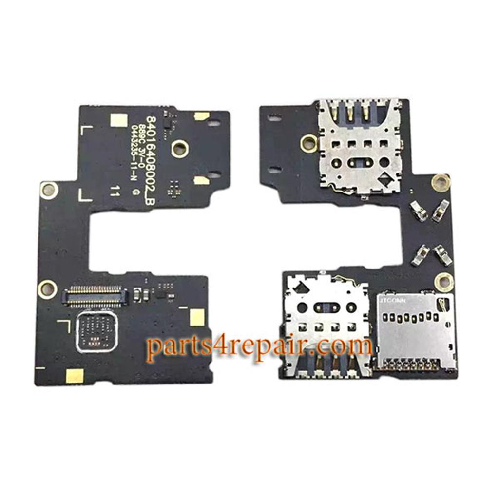 SIM Connector Board for Motorola Moto G (3rd Gen) from www.parts4repair.com