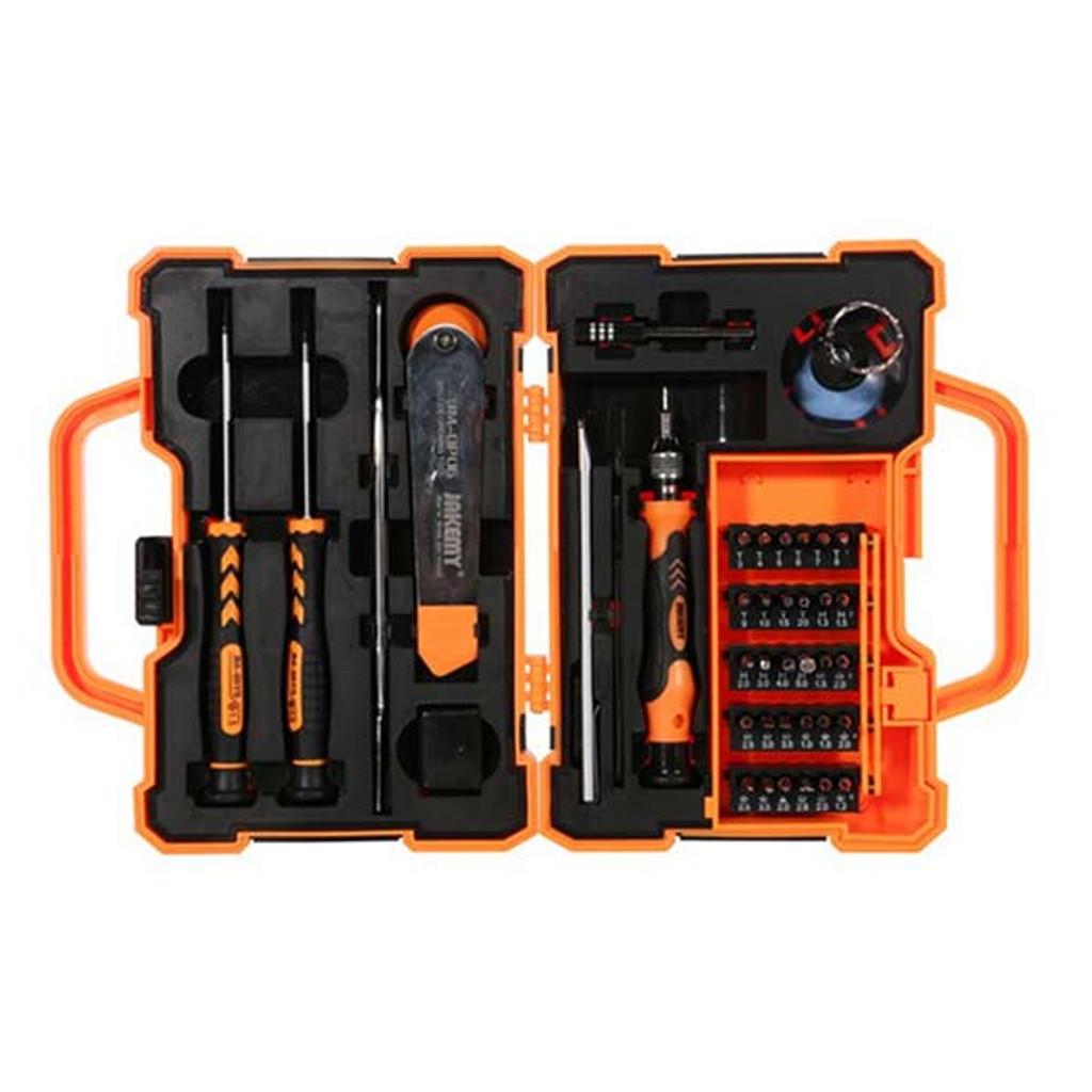 JAKEMY JM-8139 45 in 1 Multi Bit Screwdriver Kit with Spudger Tweezers for Mobile Phone Tablets