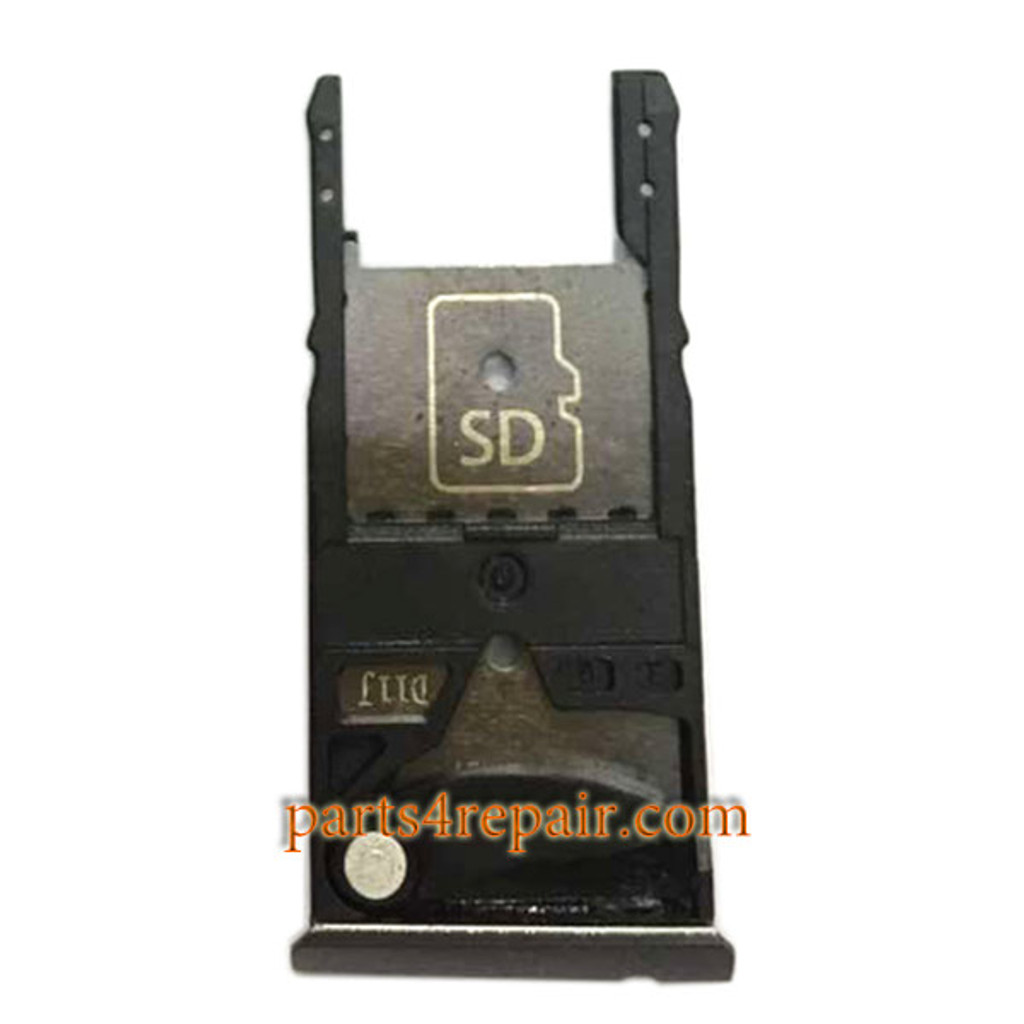 """SIM Tray for Motorola Moto X Style 5.7"""" XT1570 XT1572 XT1575 -Black"""