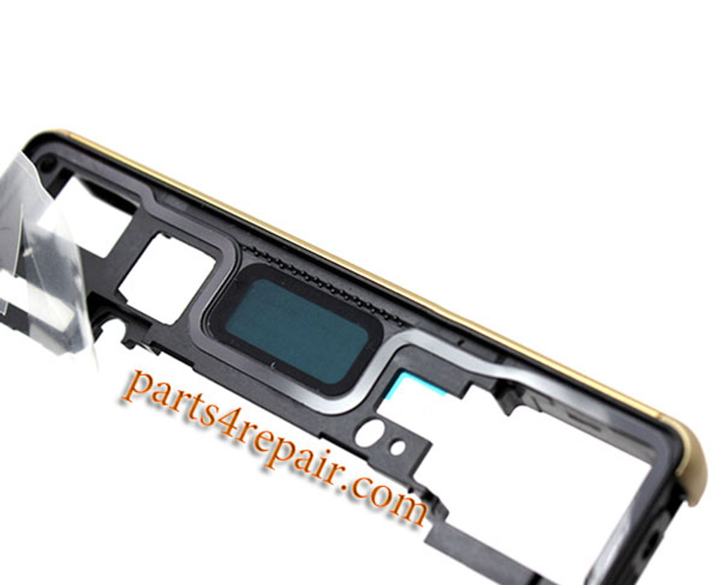 Middle Housing Cover with Small Parts for Sony Xperia Z5 -Green