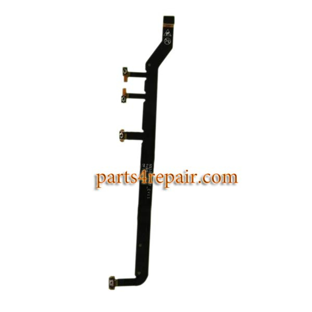 Side Key Flex Cable for ZTE Nubia Z9 NX508J from www.parts4repair.com