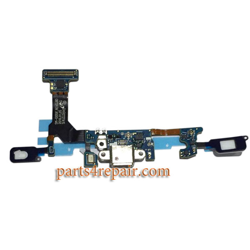 Dock Charging Flex Cable for Samsung Galaxy S7 G930F from www.parts4repair.com
