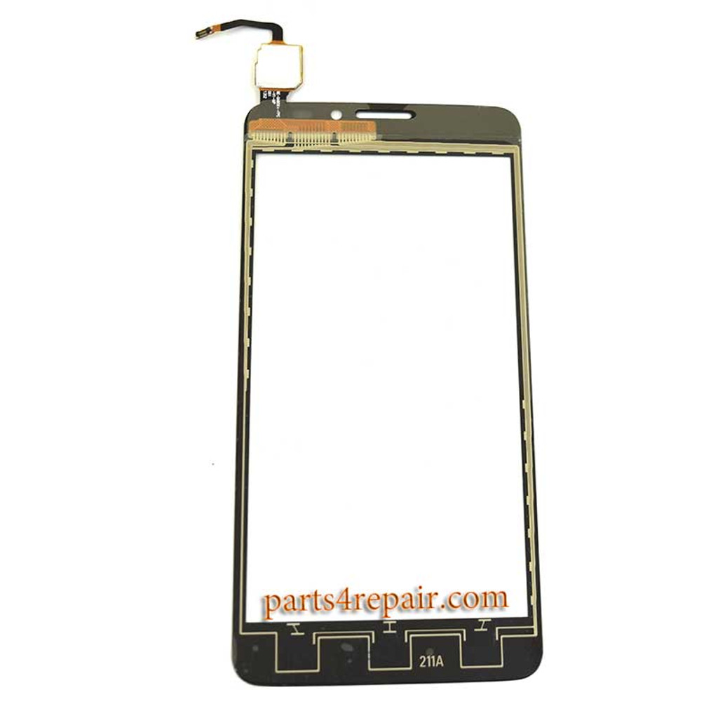 Touch Screen Digitizer for Alcatel Idol X + 6043D -Black