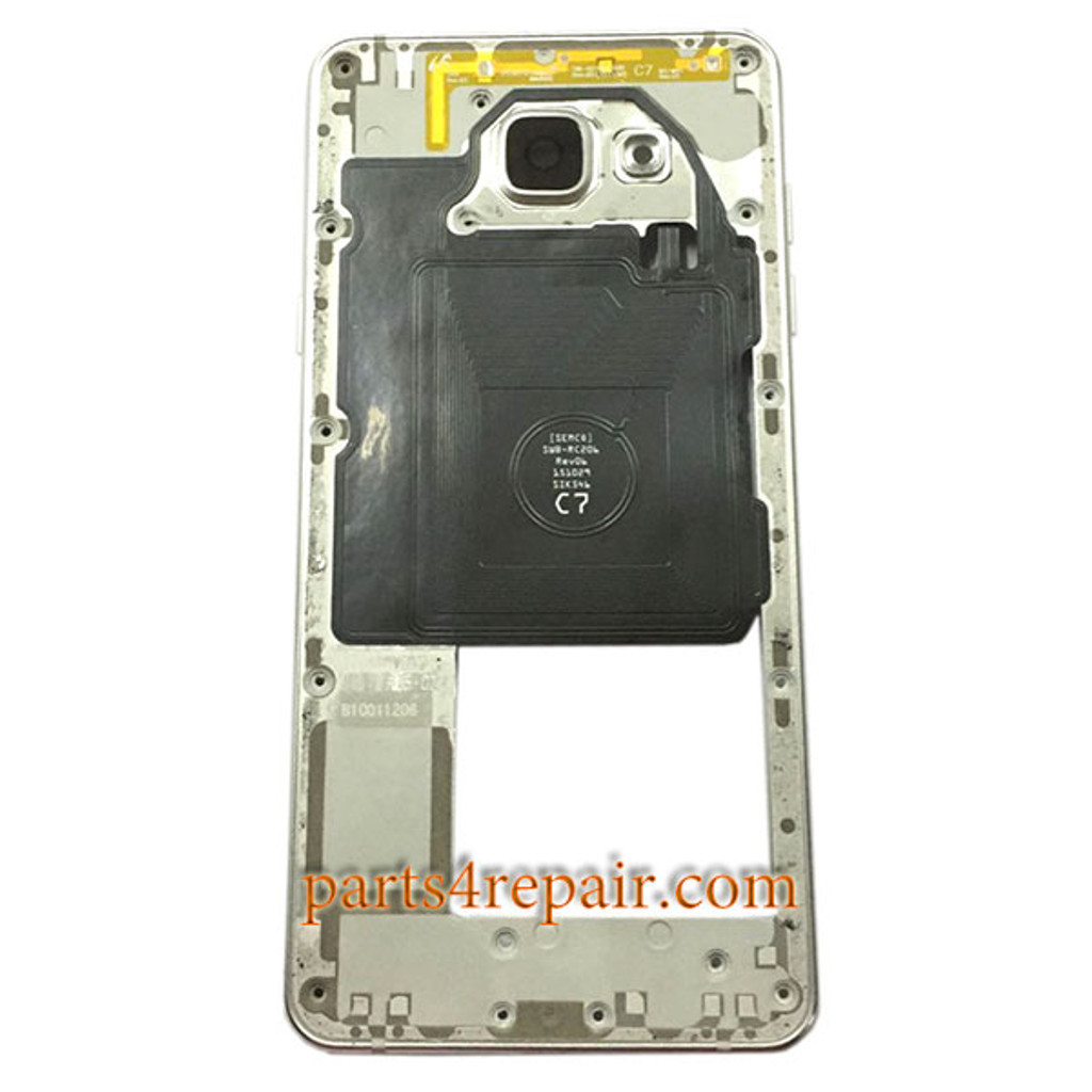 Middle Housing with Side Keys for Samsung Galaxy A5 (2016) from www.parts4repair.com