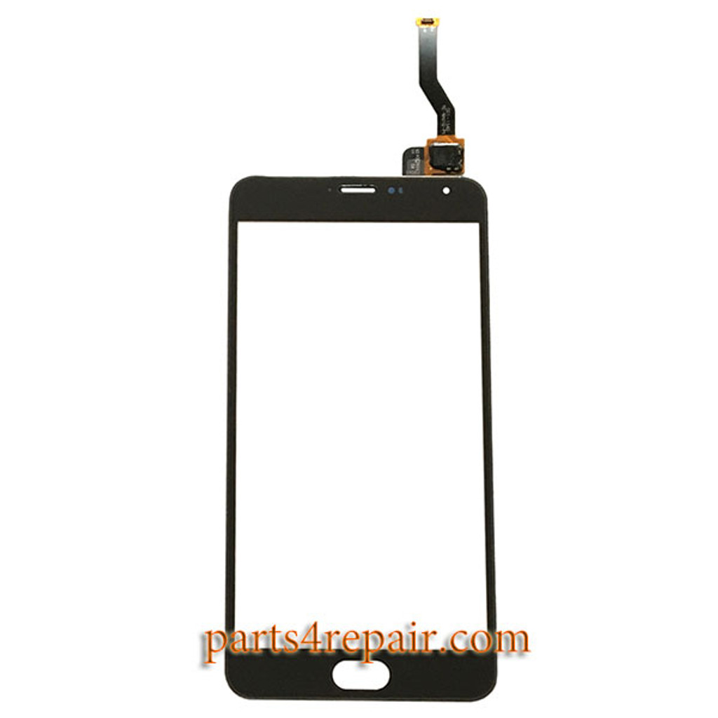 Touch Screen Digitizer for Meizu M1 Metal from www.parts4repair.com