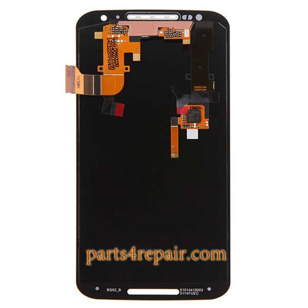 Complete Screen Assembly for Motorola Moto X2 XT1096 - Black