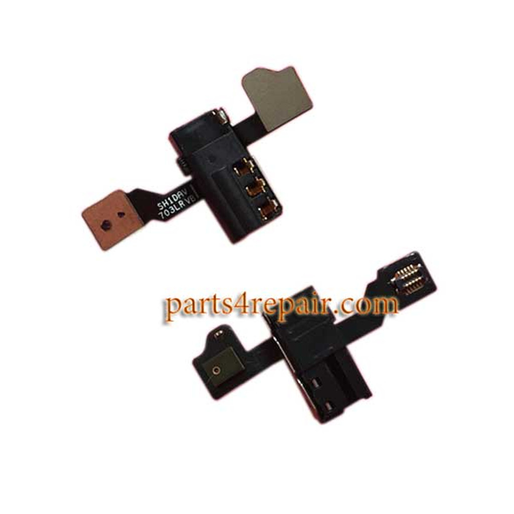 Earphone Jack Flex Cable Replacement for Huawei P8 MAX