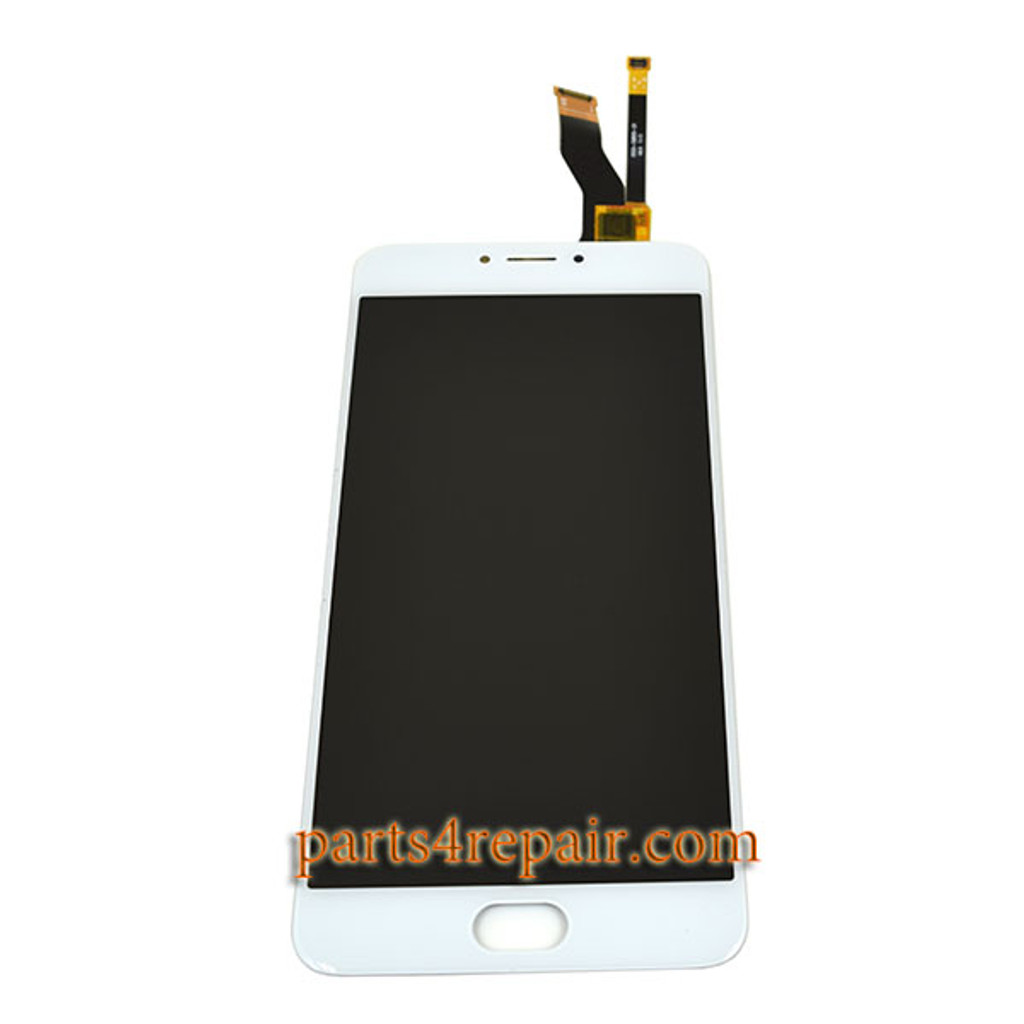Complete Screen Assembly for Meizu M3 Note  M681H from www.parts4repair.com