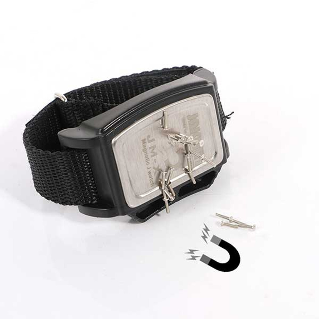 Magnetic Wrist Band for repairing televisions