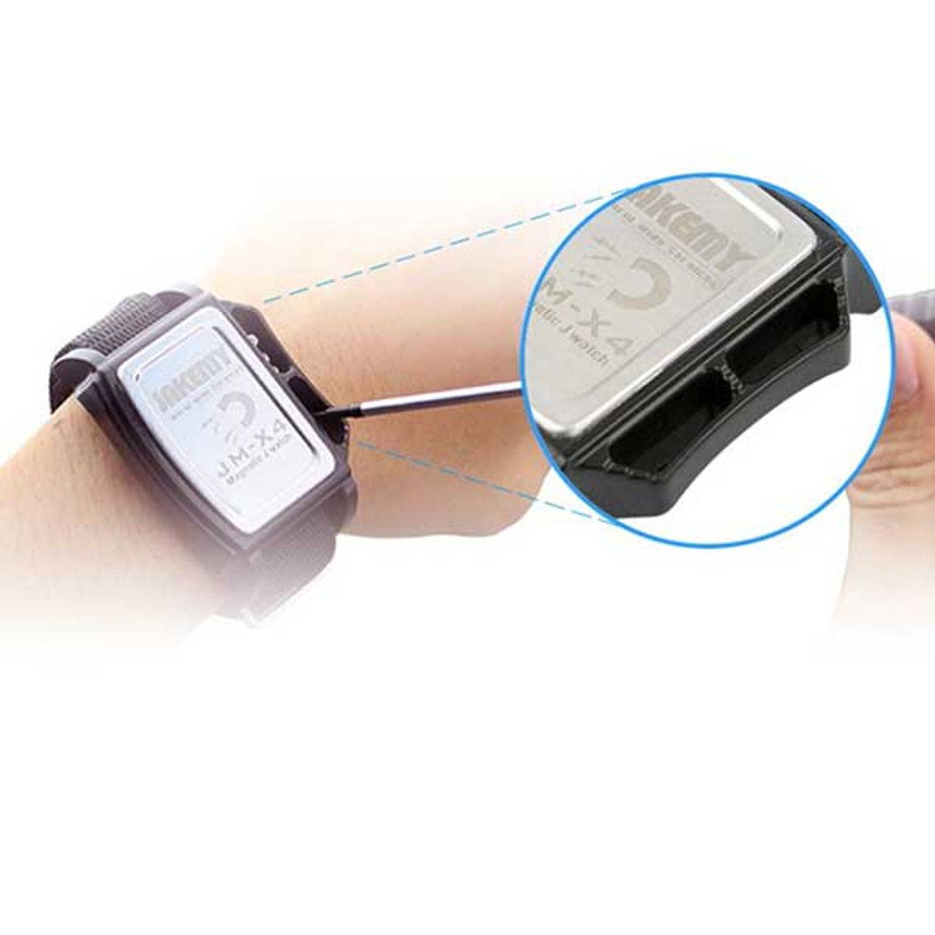Magnetic Wrist Band for Repairing PDA, PC