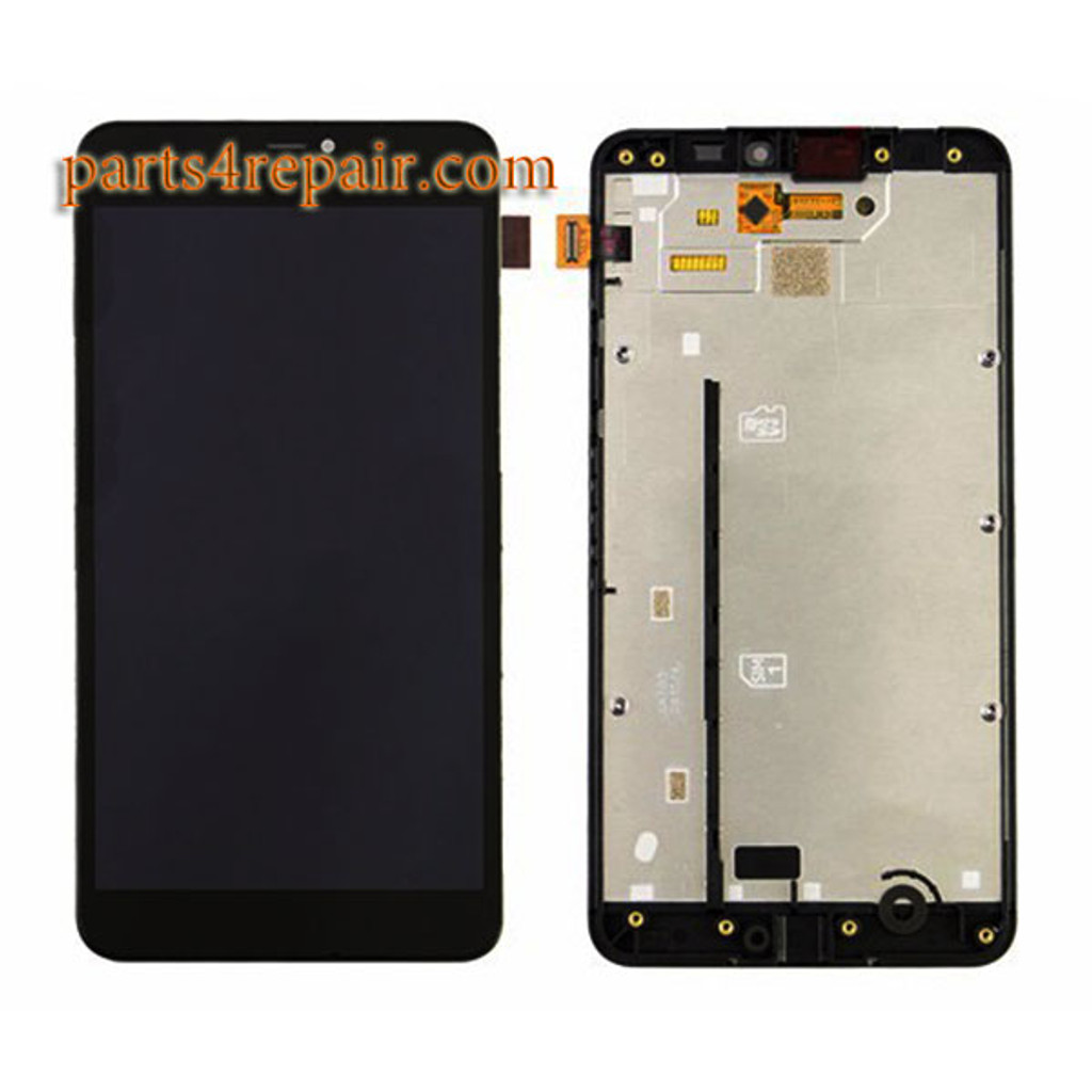 Complete Screen Assembly with Bezel for Microsoft Lumia 640 XL