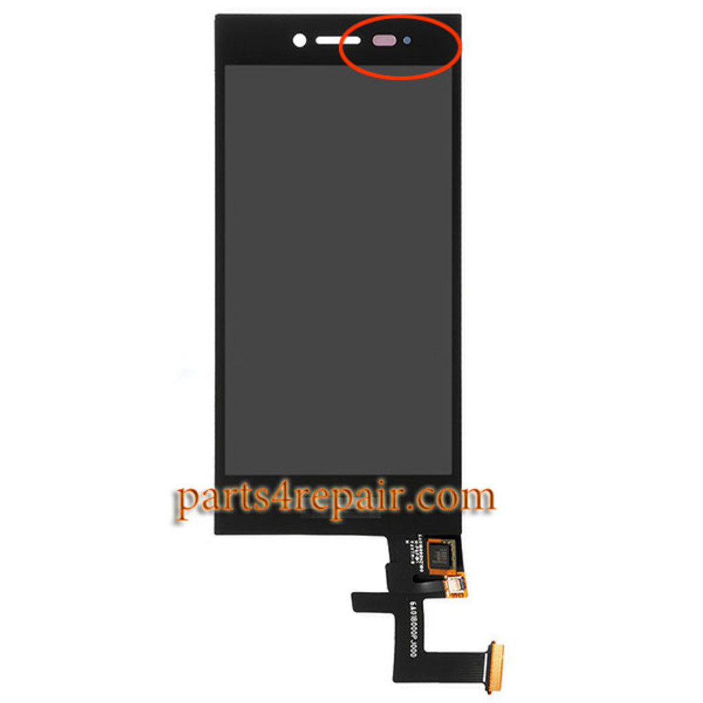 Complete Screen Assembly for BlackBerry Leap Z20
