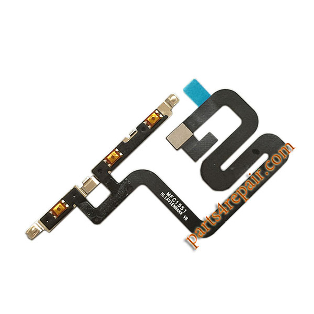 Side Key Flex Cable for Huawei P9 Plus from www.parts4repair.com