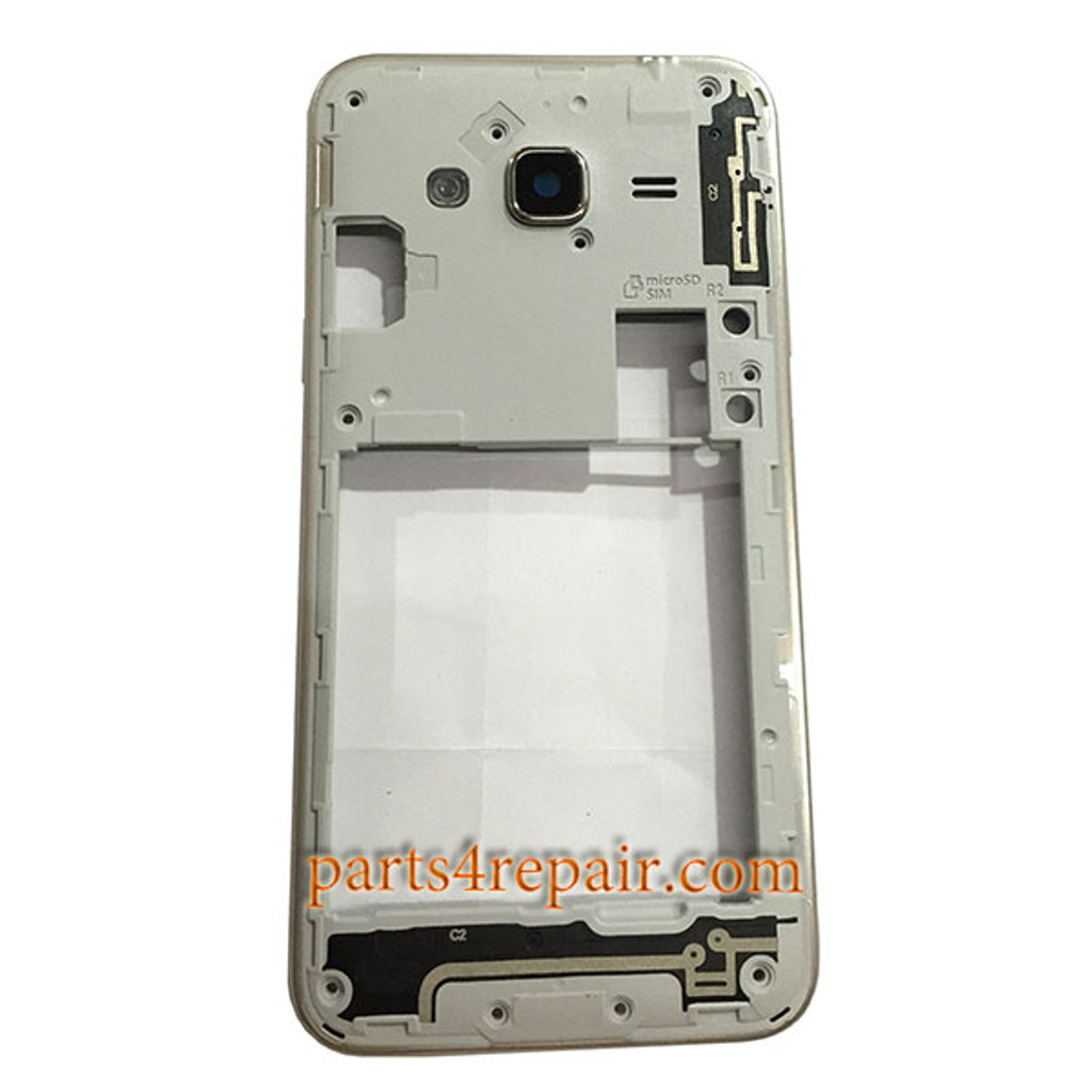 Middle Housing with Side Keys for Samsung Galaxy J3 (2016)
