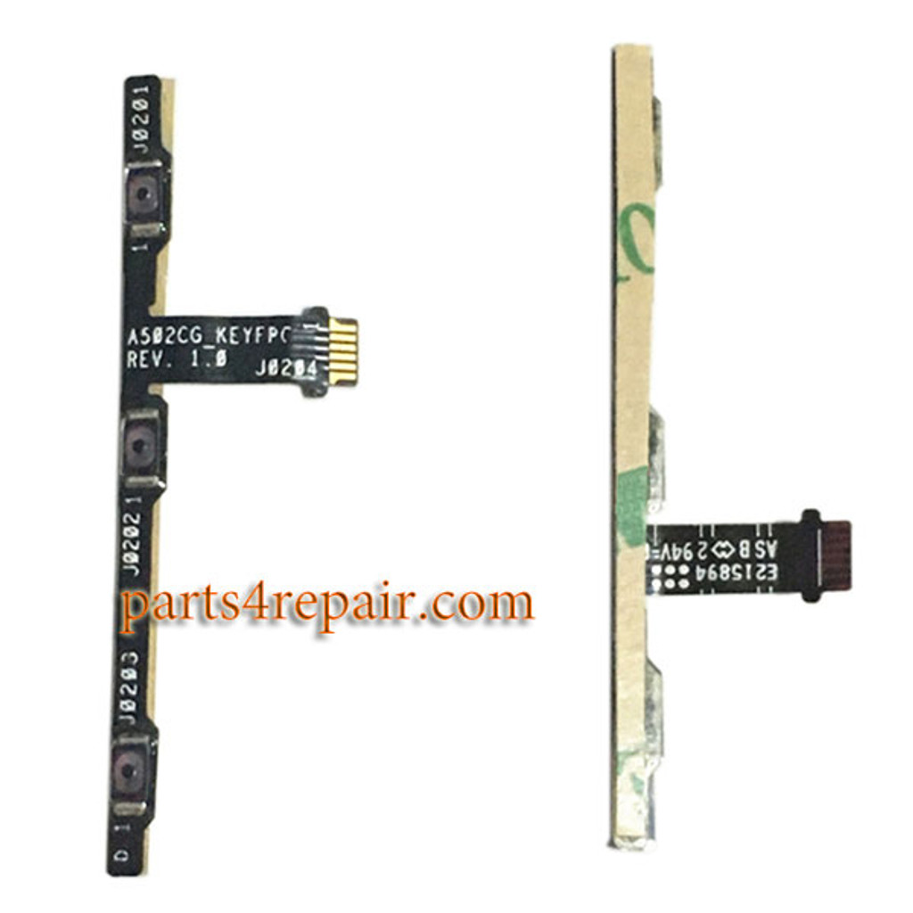 Volume Flex Cable for Asus Zenfone 5 Lite AC502CG from www.parts4repair.com