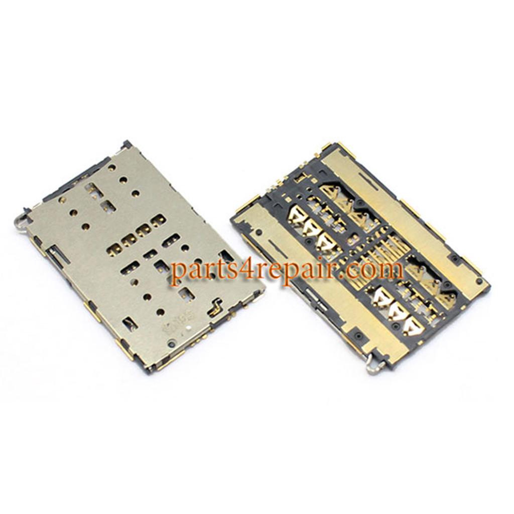 SIM Card Reader for Huawei nova from www.parts4repair.com