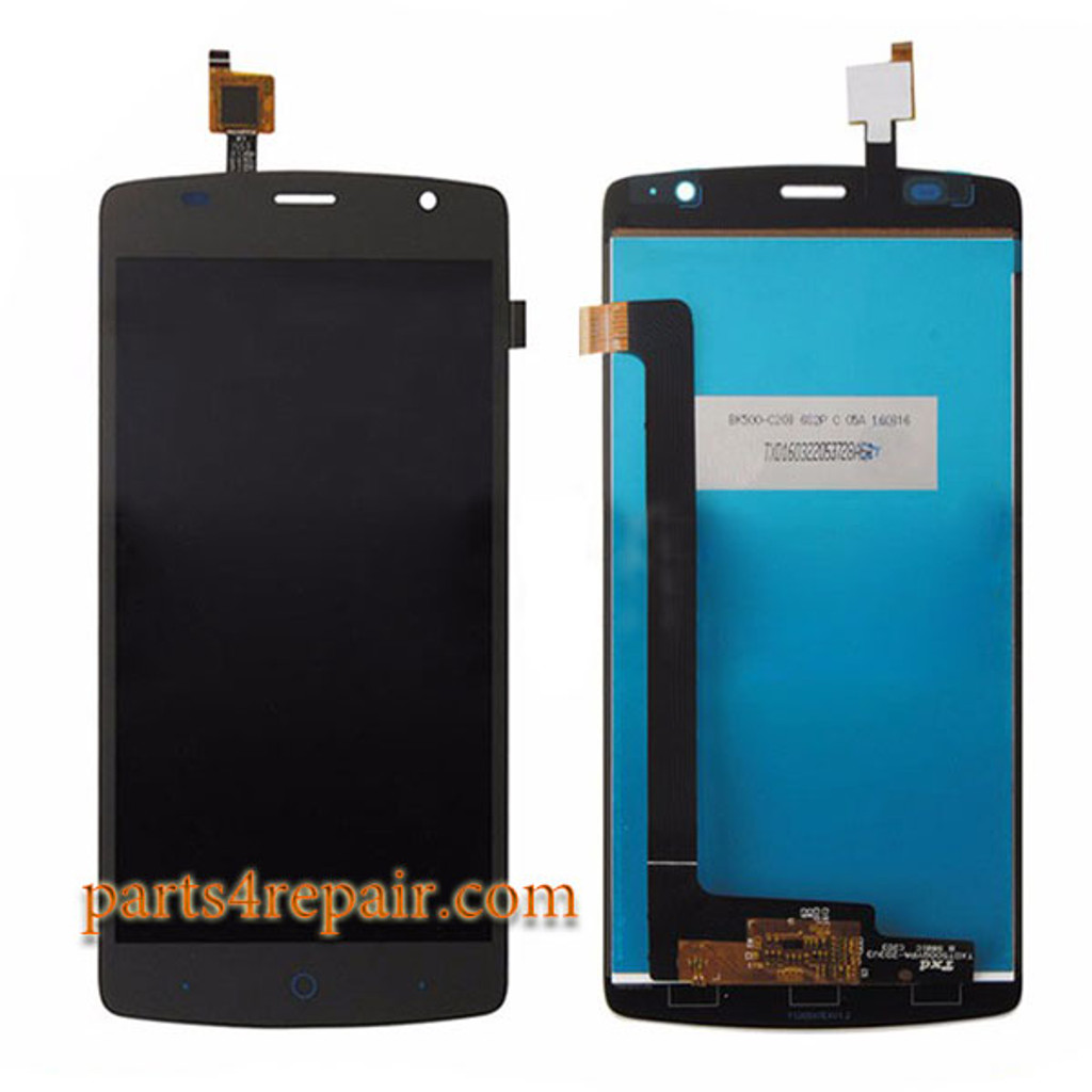 Complete Screen Assembly for ZTE Blade L5 Plus from www.parts4repair.com