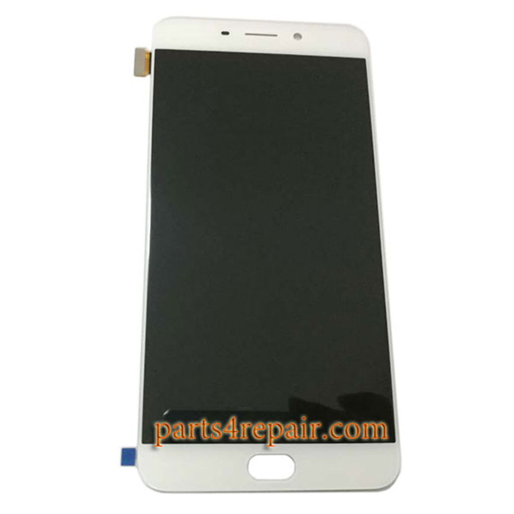 Complete Screen Assembly for Oppo R9 Plus from www.parts4repair.com