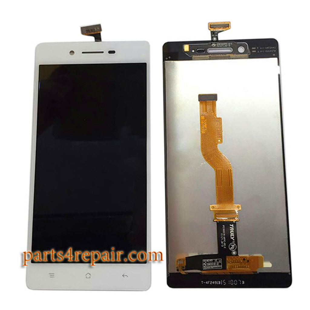 Complete Screen Assembly for Oppo A33 from www.parts4repair.com