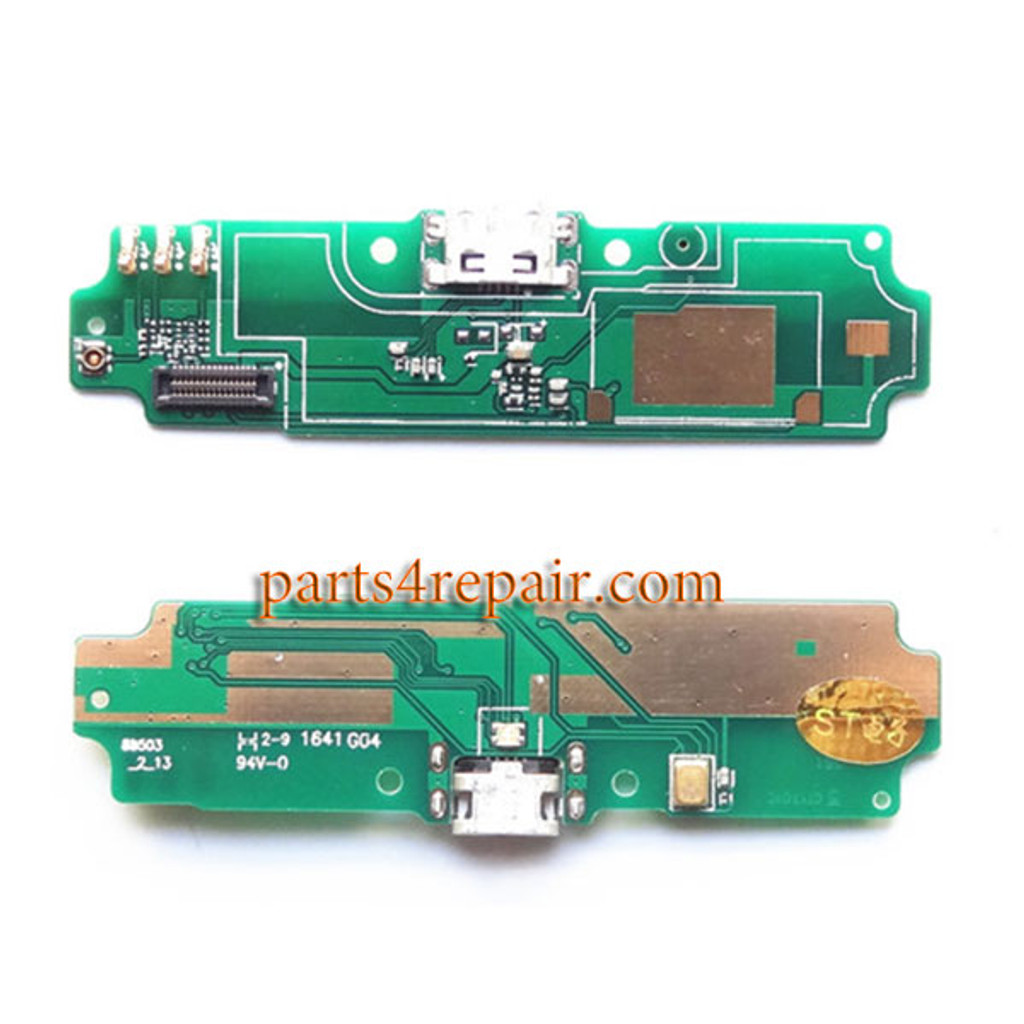 Dock Charging PCB Board for Xiaomi Redmi 4A from www.parts4repair.com
