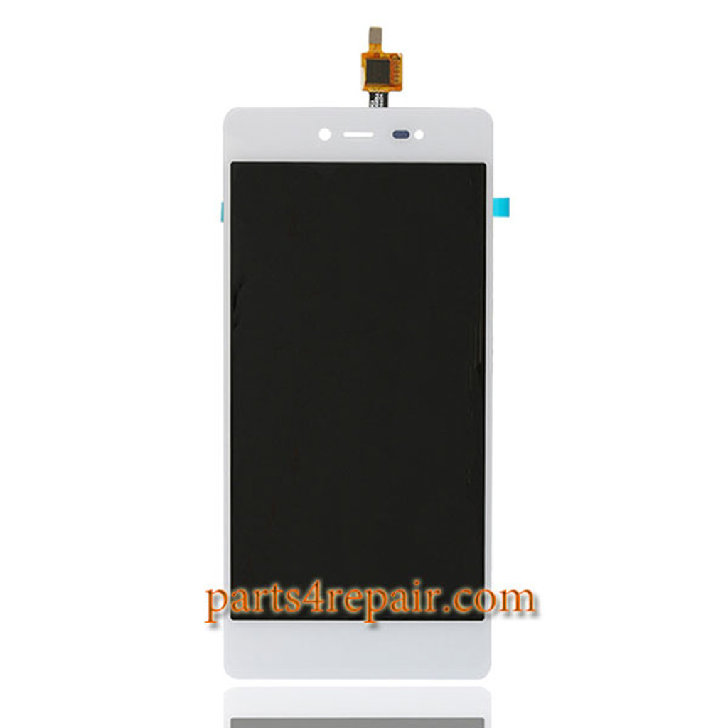 Complete Screen Assembly for Wiko Fever 4G from www.parts4repair.com