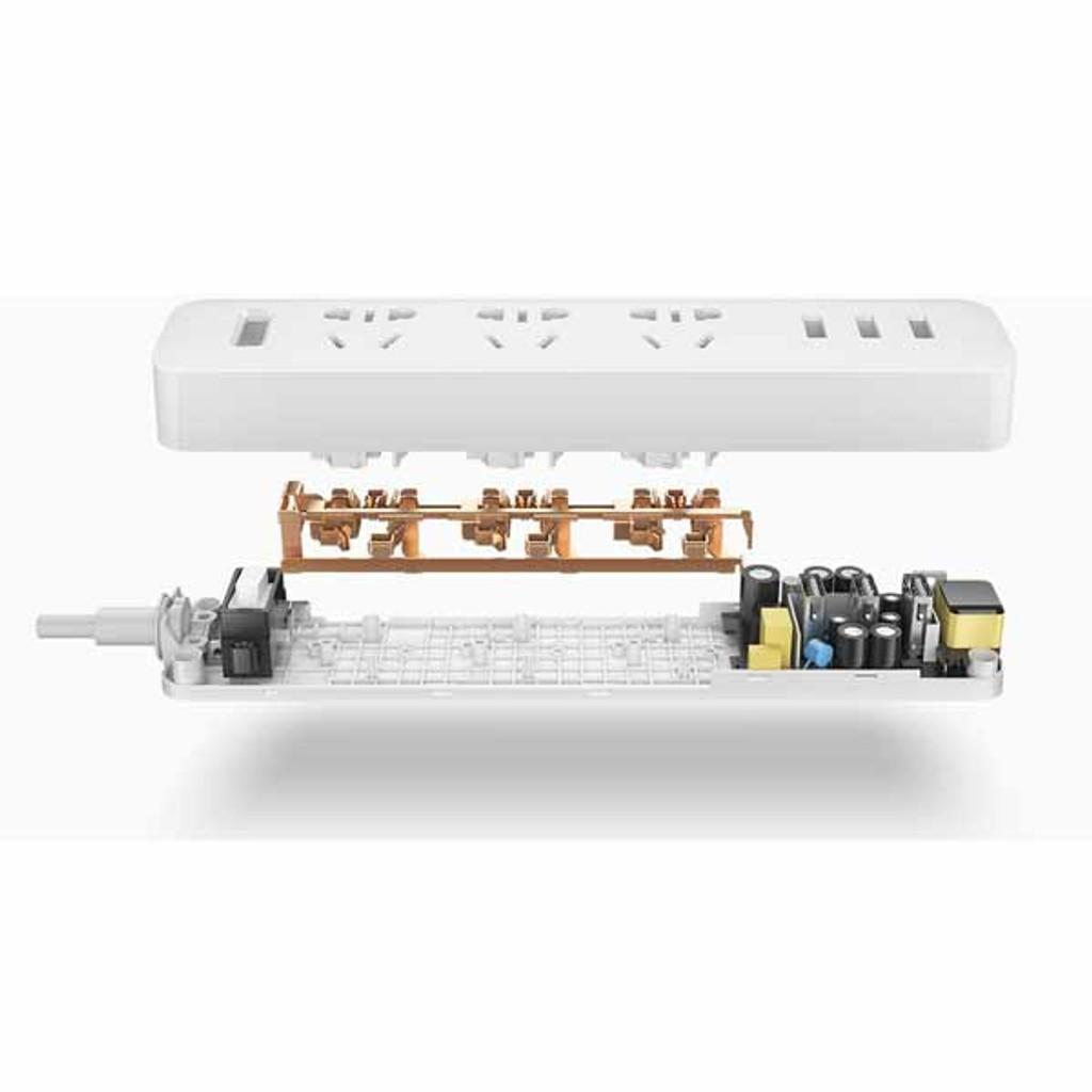 Xiaomi Smart USB Power Strip Outlet Socket Plug with 3 USB Ports