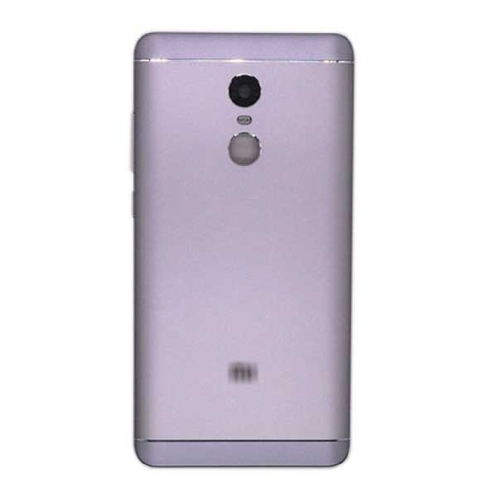 Back Housing Cover with Side Keys for Xiaomi Redmi Note 4X/ 4 Global Version -Gray