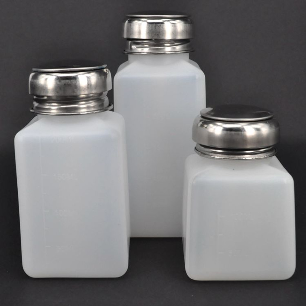 Antistatic ESD Plastic Alcohol Bottle