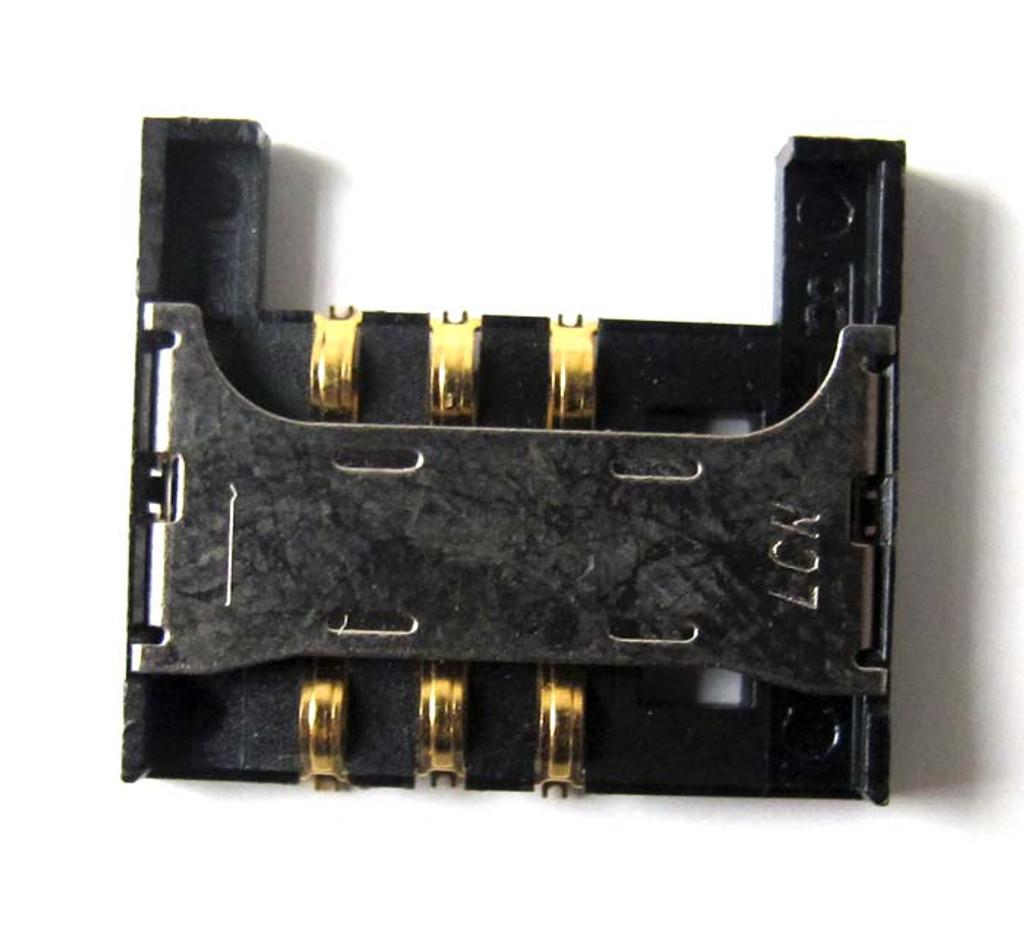 Samsung I9100 Galaxy S II SIM Connector from www.pars4repair.com