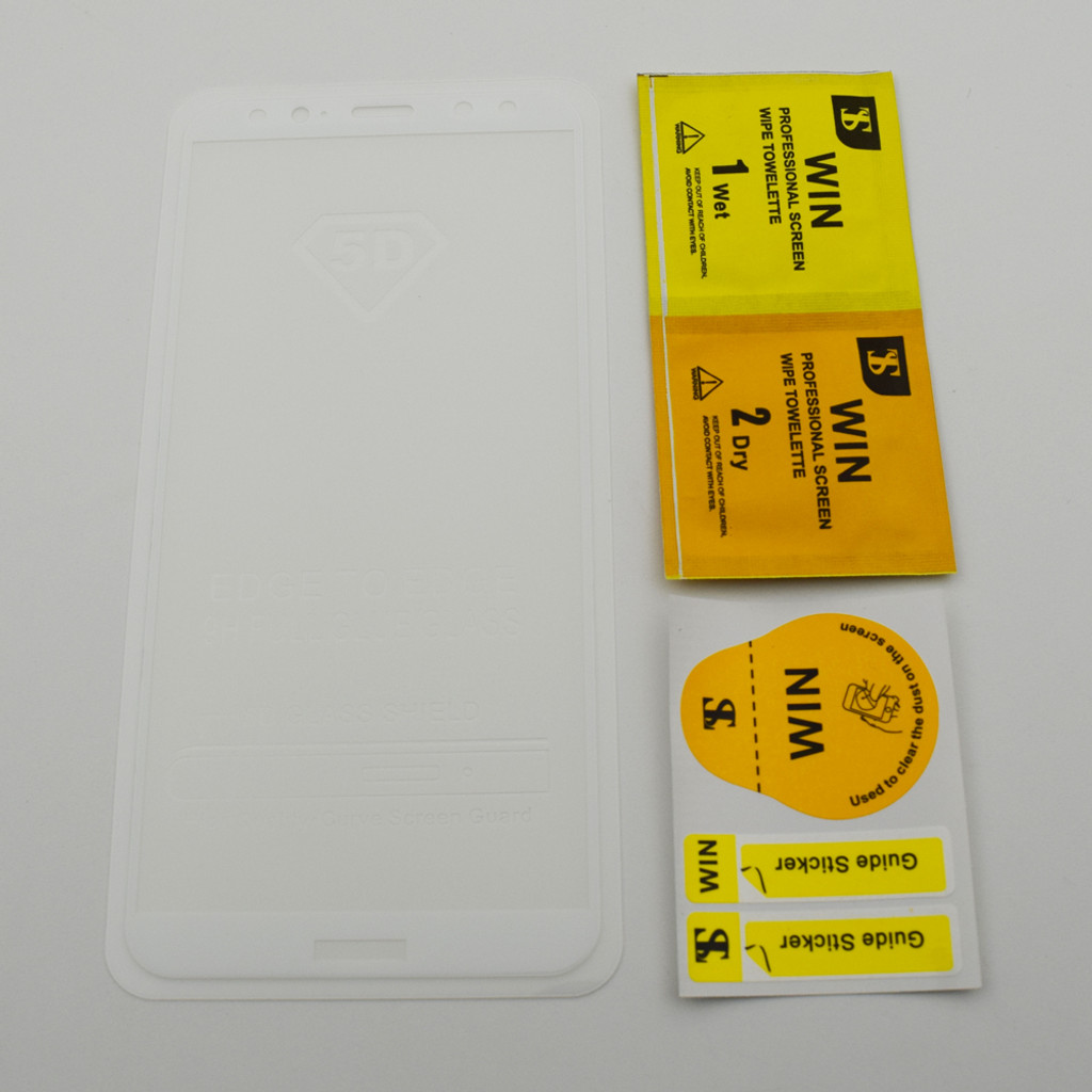 5d Full Cover Tempered Glass For Huawei Mate 10 Lite White Oppo F3 3d Premium Pro From