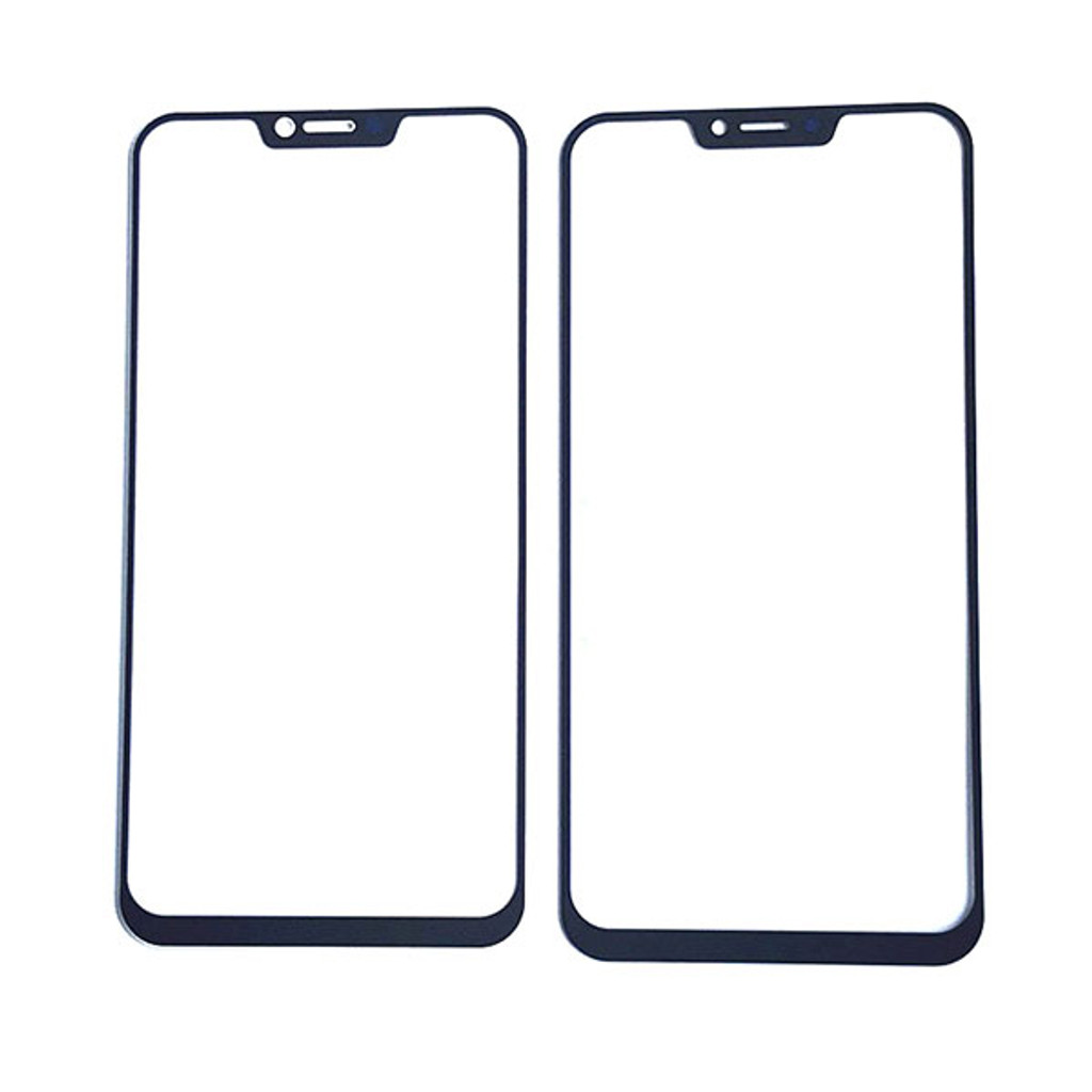 Asus Zenfone 5z ZS620KL Front Glass Replacement Black