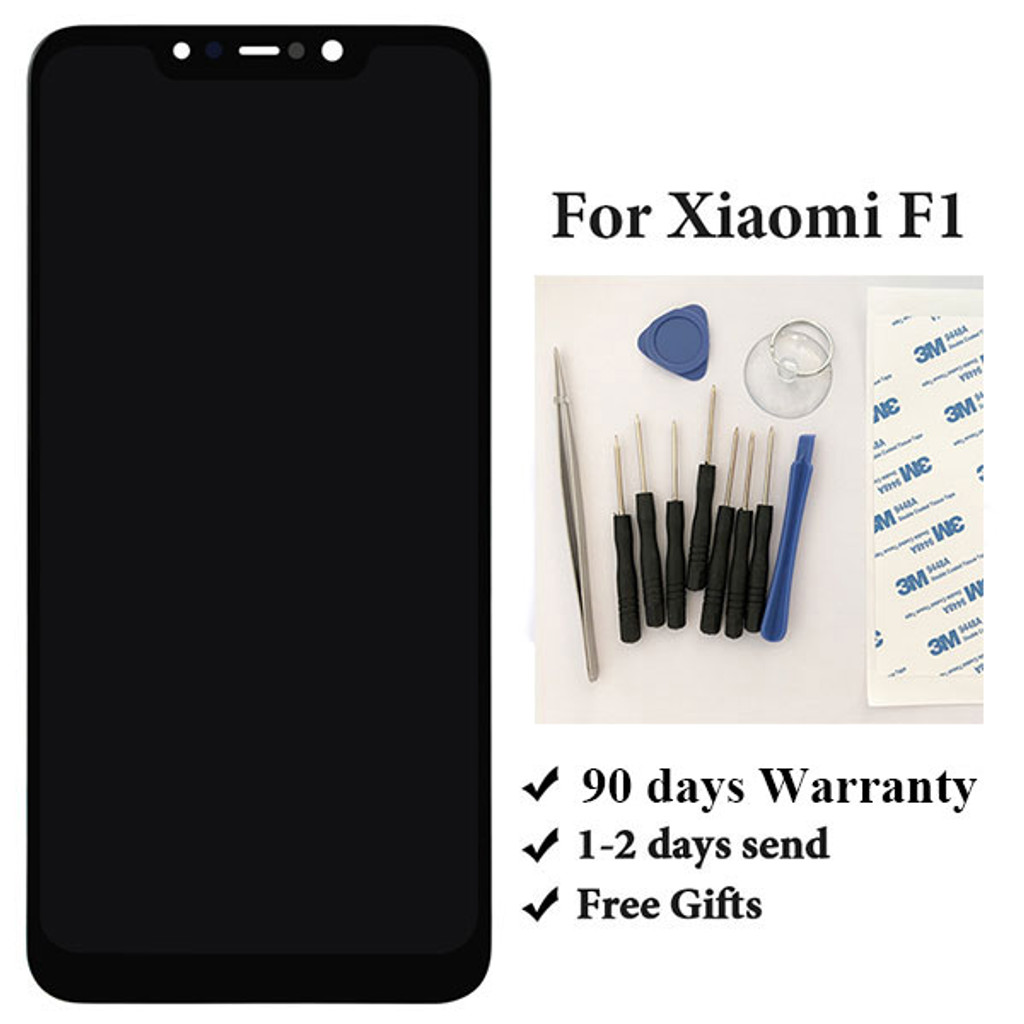 Xiaomi Pocophone F1 LCD Screen and Digitizer Assembly from www.parts4repair.com
