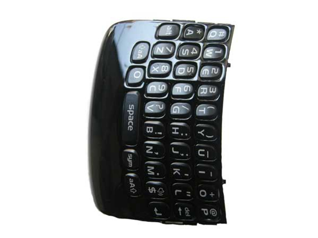 BlackBerry Cuve 9360 Keypad Black from www.parts4repair.com