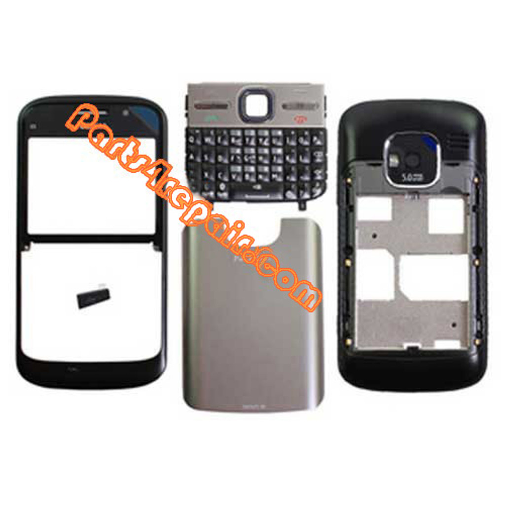 Housing Cover with Keypad for Nokia E5 -Black