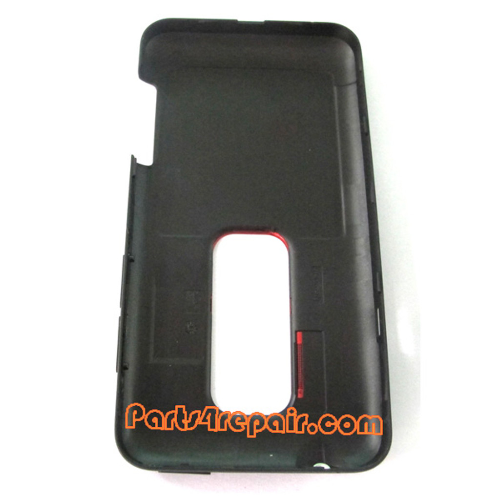 Back Cover for HTC EVO 3D -Black